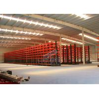 Buy cheap Q235B Steel Cantilever Storage Racks , Selectivity Heavy Duty Cantilever Racking product