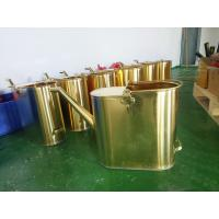 Buy cheap non sparking brass material copper 20L  capacity refueling bucket product