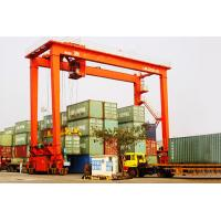 Buy cheap Rubber Tyred Container Gantry Crane / RTG  Capacity: 35t, 40t Working Level: A6, A7, A8 Span: 23m, 27m product