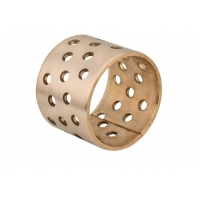 Buy cheap WGB-090 CuSn8P Self Lubricating Rolled Bronze Wrapped Bearings product