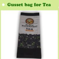 China Bag for tea, food plastic with side gusset bag, wholesale bag from China on sale