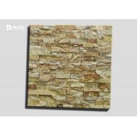 Buy cheap Rusty And Yellow Assorted Limestone Cultured Stone With 3-3.5cm Thickness product
