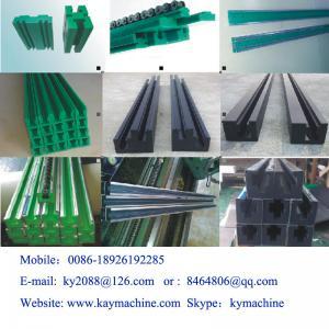 Buy cheap glissez le fabricant en plastique mince en plastique de bande de diapositive en couleurs d'uhmwpe de fabricant de bande de canal product
