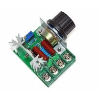 Buy cheap 2000W 220V AC SCR Electric Voltage Regulator Motor Speed Control Controller product