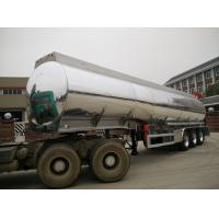 Buy cheap Aluminum Fuel Tank Semi Trailer 42000 Liters With BPW Axle And 7500kg Weight product