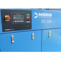 Buy cheap Oil Injected Direct Driven Air Compressor With Variable Frequency Motor 22kW product