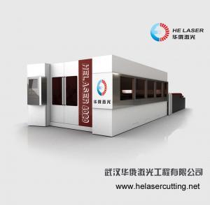 Buy cheap 安全な部屋と産業封じられたステンレス鋼繊維レーザーの打抜き機 product