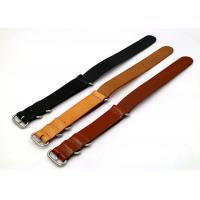 Buy cheap Professional Custom Mens Watches Leather Band , Sport Watch Bands Three Color product