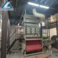 Buy cheap Full Automatic Non Woven Fabric Making Machine/SS Spunbond Non Woven Fabric from wholesalers