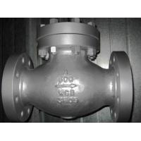 Buy cheap BW END Stainless Swing Check Valve CF8 CF3 CF8M With Integral Or Replaceable Seat from wholesalers