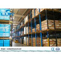 China Heavy Duty Drive In Pallet Rack For Industrial Workshop Optional Color on sale