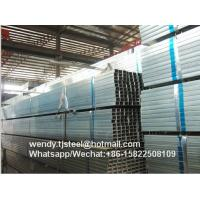 China lowest price 45*45mm SHS hot dip galvanized steel pipe/tube Q195 on sale