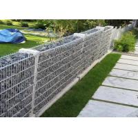 Buy cheap Welded Hot-dipped Galvanized Gabion Box / Rock Cage Retaining Wall Economic product