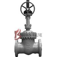 Buy cheap API Cast Steel Fully Open Gate Valve Metal Seat Z40H For Oil / Gas Industry from wholesalers