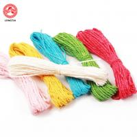 Buy cheap 1.5mm Diameter 2 Plies Twisted Paper Rope For Decoration / Polypropylene Tying Twine product