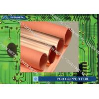Buy cheap Roll Size S - HTE Electrolytic Copper Foil For PCB  Made Of Red Copper product