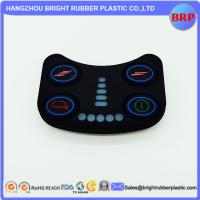 China High Quality Foodgrade Custom 50 Shore A Various Silicone Rubber Keypad With Spray Wear-Resistant Hand Ink on sale