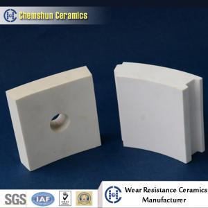 Buy cheap Feuille de carreau de céramique d'alumine de Chemshun avec l'excellente résistance à l'usure product