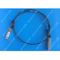 Buy cheap 40Gb/S QSFP28 Direct - Attach Copper Serial Attached SCSI Cable For Switch 2 Meter product