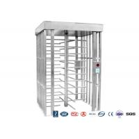 Deluxe Automatic Full height Turnstile  Pedestrian System Parking Facilities Rotating Gates