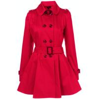 Buy cheap Lady's jacket Fashion long Coat With Belt for Autumn and Winter from wholesalers