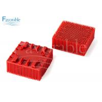 Buy cheap 130298 703493 Red Nylon Bristle Blocks Suitable For Vector 2500 Cutting Machine product