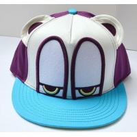 Buy cheap 3D patch embroidery bright color flat brim cartoon snapback hat product