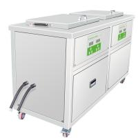 Buy cheap Multi-Stage Ultrasonic Machine 3 Heated Ultrasonic Cleaning Tanks and 1 Drip Tank from wholesalers