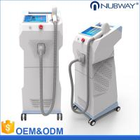 China Permanent professional and fast 808nm diode laser hair removal machine on sale