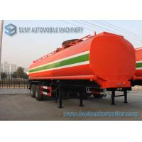 Buy cheap Dilute Hydrochloric Acid  35000 L Chemical Liquid Tank Trailer 3 Axles product