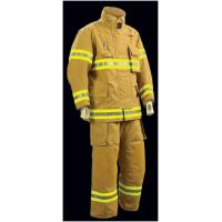 Buy cheap Yellow Pbi Fireman Turnout Gear / 3 Layers Firefighter Bunker Gear from wholesalers