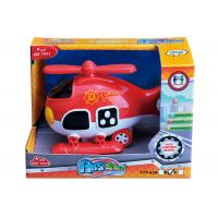 """Quality Light And Sound Rescue Fire Truck Ambulance Baby Girl Toys Red Blue 8 """" Helicopter for sale"""