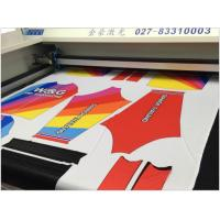 Buy cheap Sublimation Sportwear Laser Cloth Cutting Machine Precision Cutting Without Hair from wholesalers