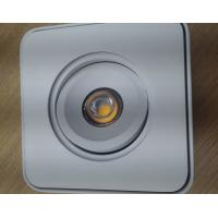 China Square 2700K COB Commercial LED Spot Downlights Ceiling Surface Mounted 7 Watt wholesale