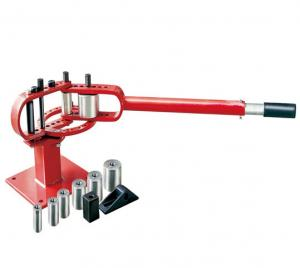 Buy cheap 7 Dies Manually Mounted Steel Air Hydraulic Pipe Bender product