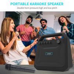 Buy cheap Outdoor Portable Wireless Bluetooth Speakers Karaoke Horn K10A 8000mah Battery product
