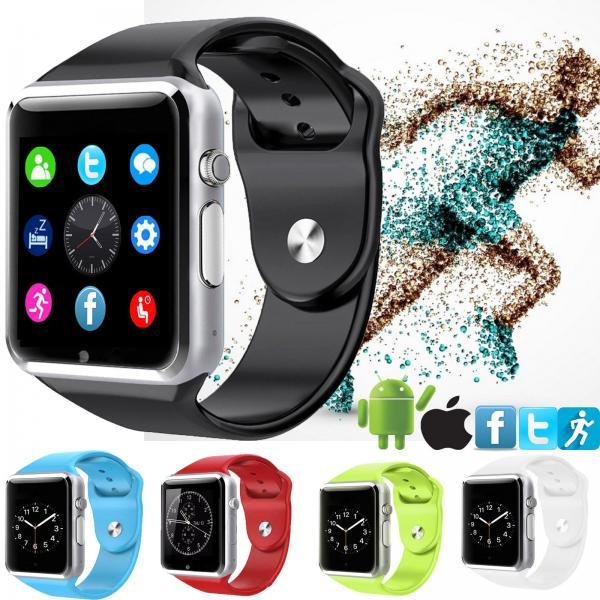 A1 Smart Watch Bluetooth Smartwatch Apple iWatch Support ...