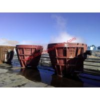 Buy cheap 40cr Forging Geological Instruments Elliptical Welded Slag Pot 35.6ton Weight from wholesalers