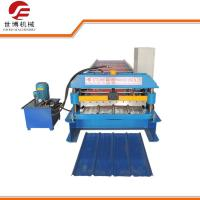 Buy cheap Automatic Trapezoidal Sheet Roll Forming Machine Galvanized GI / PPGI Materials from wholesalers