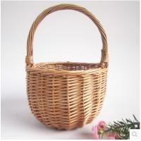 Buy cheap Willow/Wicker Woven baskets for gifts, fruits, food, ect product