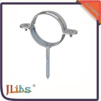 Custom Thread Saddle Pipe Clamps Metal High Performance 1.2MM Thickness