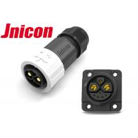 Buy cheap 40A 6Sqmm Cable 2 Pin Waterproof Power Connector Plug And Socket For E- Scooter product