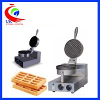 China 1-head Durable Stainless Steel Commercial Waffle Baker Maker 1300W on sale