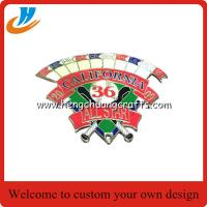 China Custom LED pin badge Fashional Promotional Cheap Led Badge lapel pin on sale