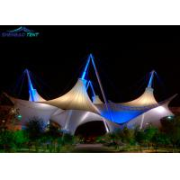Buy cheap High Strength Park Membrane Structure Building / Tensile Shade Structures from wholesalers