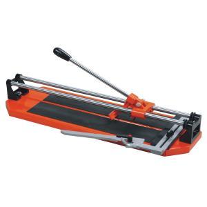 20 en cortador de teja con cromo durable platearon los carriles de acero, modelo # 540700