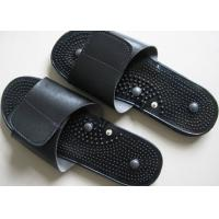 Buy cheap 250mm×80mm Electrode Pluse Massage Slipper For Foot Massage, Black EVA Foot Massage Slippers product