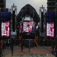 Buy cheap Commercial P3 Indoor Full Color LED Display Hire Ads Led Signs 192mm×192mm product