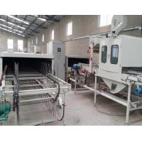 Buy cheap Stone Coating Auto Roof Tile Making Machine PLC Control Box Frequency Speed product