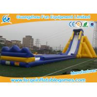 China Commercial Grade Inflatable Slides / Large Inflatable Slide / Giant Inflatable Pool Slide For Child Or Adults on sale
